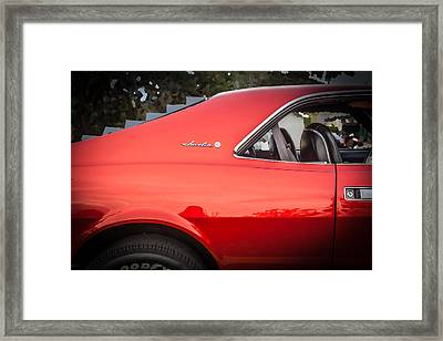 1970 Amc Javelin 401 Framed Print