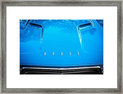 1972 Dodge 340 Challenger Painted  Framed Print