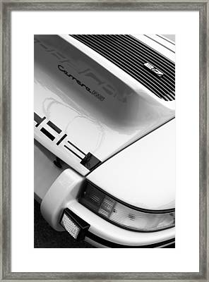 1973 Porsche 911 Carrera Rs Lightweight Rear Emblem Framed Print by Jill Reger