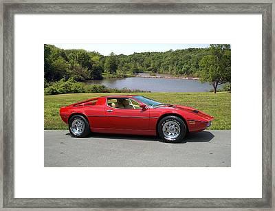 1975 Maserati Merak Framed Print by Tim McCullough
