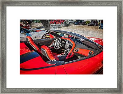 2014 Chevrolet Corvette C7 Convertible Framed Print by Rich Franco