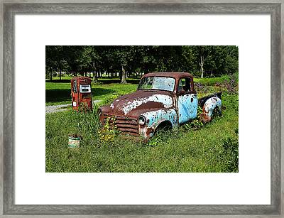 Framed Print featuring the photograph '48 Chevy by Paul Mashburn