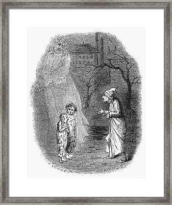 A Christmas Carol Framed Print