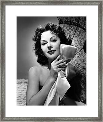 A Lady Without Passport, Hedy Lamarr Framed Print