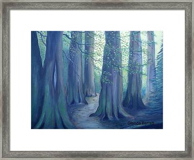 A Morning Stroll Framed Print by Glenda Barrett