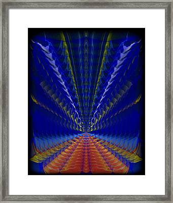 Abstract 105 Framed Print by J D Owen