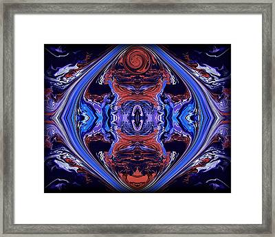 Abstract 110 Framed Print by J D Owen
