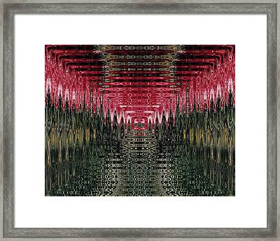 Abstract 117 Framed Print by J D Owen