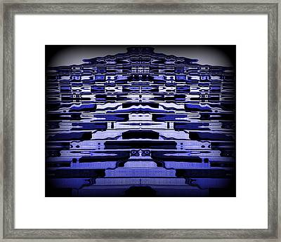 Abstract 121 Framed Print by J D Owen