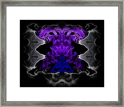 Abstract 83 Framed Print by J D Owen