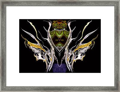 Abstract 94 Framed Print by J D Owen