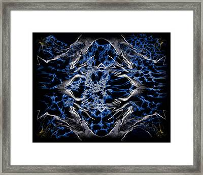 Abstract 97 Framed Print by J D Owen