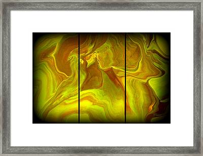 Abstract 99 Framed Print by J D Owen