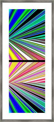 Abstract Fusion 221 Framed Print by Will Borden
