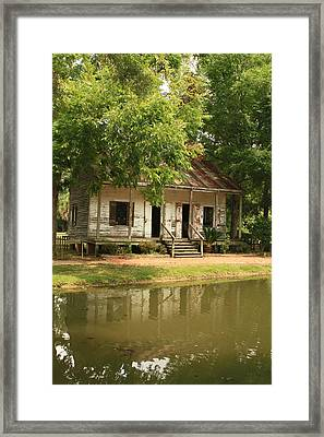 Acadian Village Lafayette Louisiana Framed Print