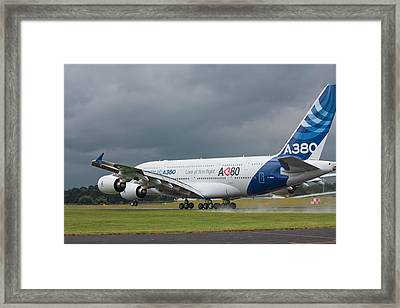 Airbus A380 Framed Print