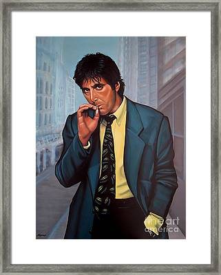Al Pacino 2 Framed Print by Paul Meijering