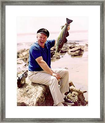Alan Hale Jr. In Gilligan's Island  Framed Print by Silver Screen