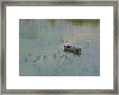 Albania. Lake Shkodra Framed Print