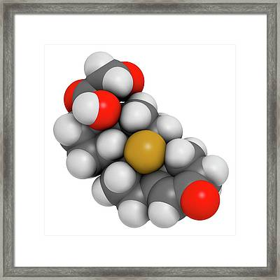 Aldosterone Hormone Substitution Drug Framed Print by Molekuul