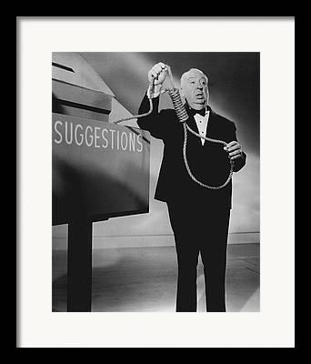 Hitchcock Photographs Framed Prints