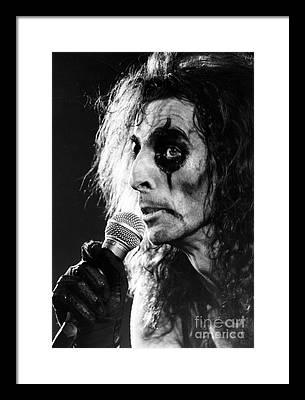 Alice Cooper Framed Prints