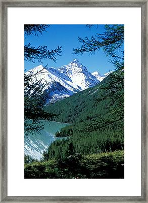 Altai Mountains Framed Print by Anonymous