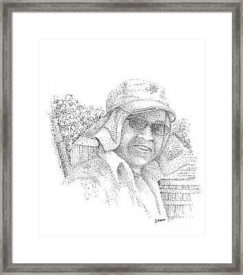 3 Amigos Celistino Framed Print by Steve Knapp