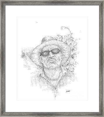 3 Amigos Sevriano Framed Print by Steve Knapp