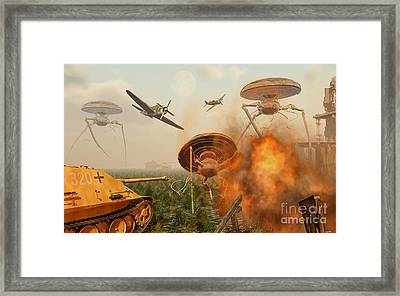 An Alternate Reality Where Allied Framed Print