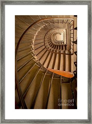 Ancient Staircase Framed Print by Brian Jannsen