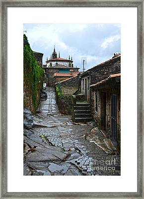 Ancient Street In Tui Framed Print by RicardMN Photography