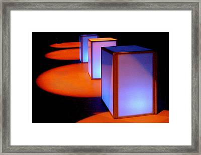 3 And 4 Framed Print