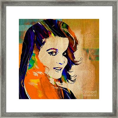 Ann Margaret Collection Framed Print by Marvin Blaine