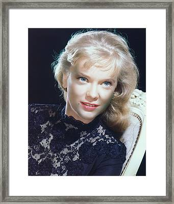 Anne Francis Framed Print by Silver Screen