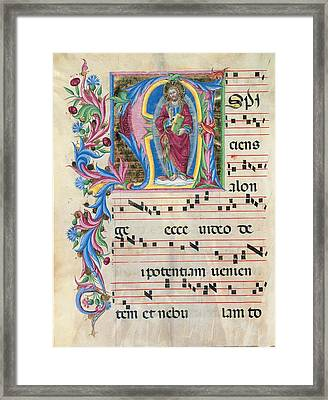 Anonymous Sienese Painter, Day Hours Framed Print
