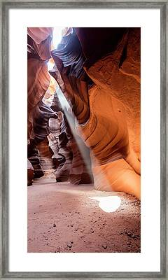 Antelope Canyon Framed Print by Michael Szoenyi