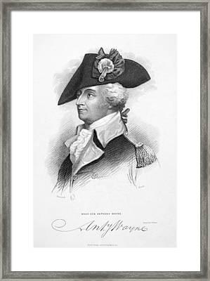 Anthony Wayne (1745-1796) Framed Print