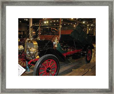 Antique Car Framed Print by Dick Willis