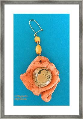Aphrodite Earring Framed Print