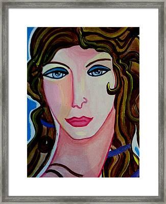 Aphrodite Framed Print by Nikki Dalton