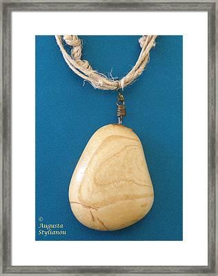 Aphrodite Urania Necklace Framed Print