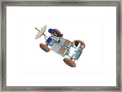Apollo Lunar Rover Framed Print by Take 27 Ltd