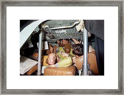 Apollo Soyuz Test Project Crew Training Framed Print by Nasa