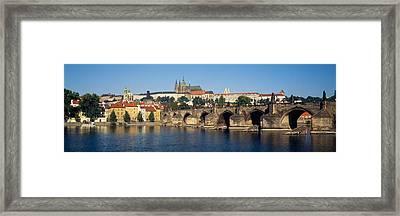 Arch Bridge Across A River, Charles Framed Print