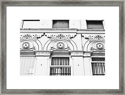 Arch Windows Framed Print by Tom Gowanlock