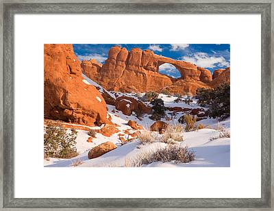 Arches National Park Utah Framed Print by Utah Images
