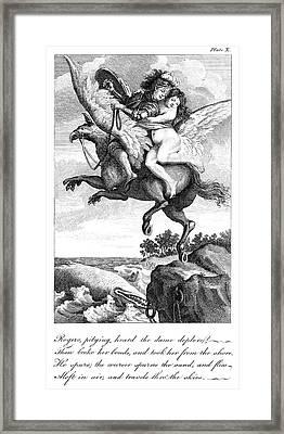 Ariosto Orlando Furioso Framed Print by Granger