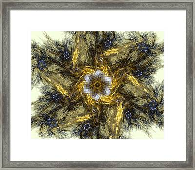 Art Abstract Backgrounds Framed Print by Odon Czintos