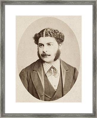 Arthur Seymour Sullivan (1842-1900) Framed Print